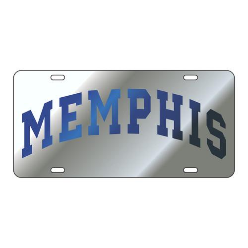 Memphis Tag (LASER SILVER/BLUE MEMPHIS (22043))