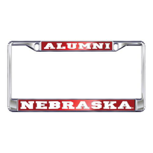 Nebraska Plate_Frame (MIRROR DOMED NEB ALUMNI FRAME (27138))