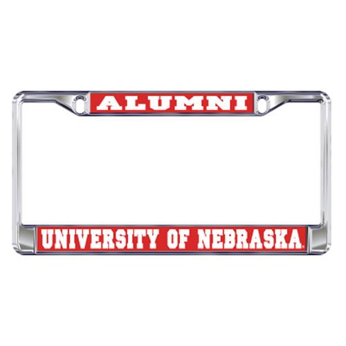 Nebraska Plate_Frame (DOMED NEBRASKA ALUMNI FRAME (27116))
