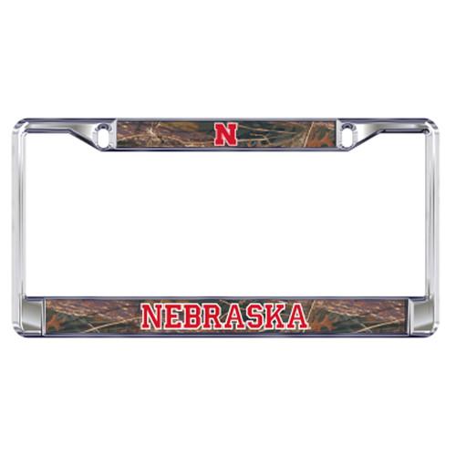 Nebraska Plate_Frame (DOMED CAMO NE PLATE FRAME (27134))
