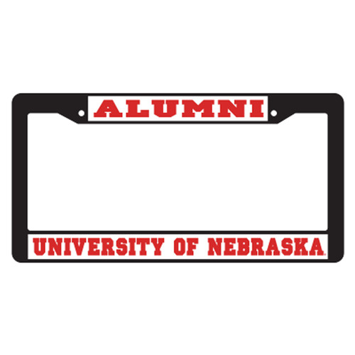 Nebraska Plate_Frame (BLACK PLATE FRAME NEB ALUMNI (27064))