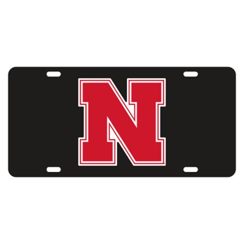 Nebraska TAG (BLACK REFL. RED N (27013))