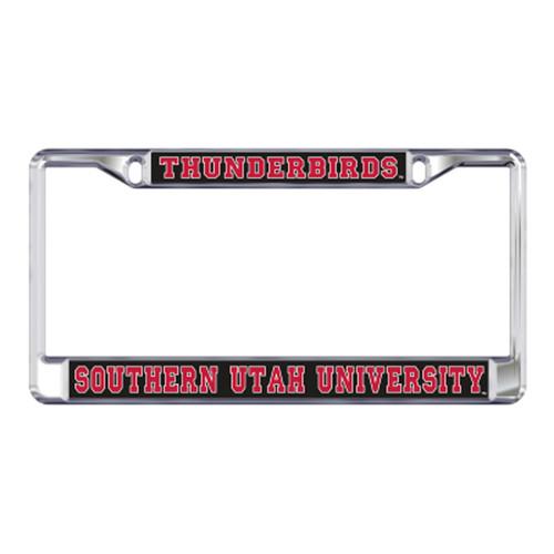 Southern Utah Plate_Frame (DOMED SUU THUNDERBIRDS PLT FR (46800))