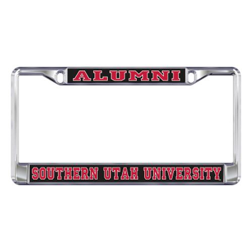 Southern Utah Plate_Frame (DOMED SUU ALUMNI PLATE FRAME (46801))