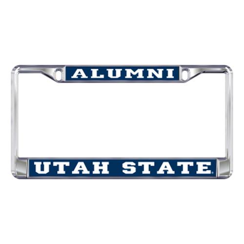 Utah State Plate_Frame (DOMED UTAH ST ALUMNI FRAME (46208))