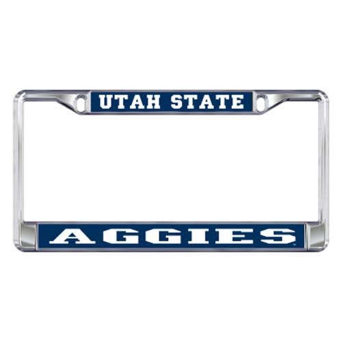 Utah State Plate_Frame (DOMED UTAH ST AGGIES FRAME (46207))