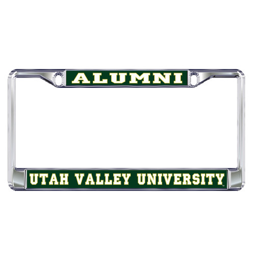 Utah Valley Plate Frame (DOMED UTAH VALLEY ALUMNI (46601))