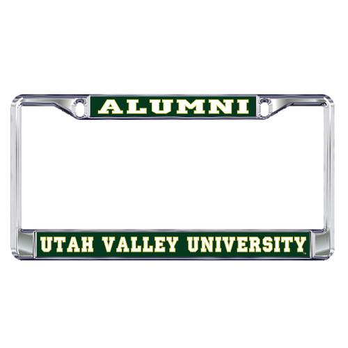 Utah Valley Plate Frame (DOMED UTAH VALLEY ALUMNI (46601))