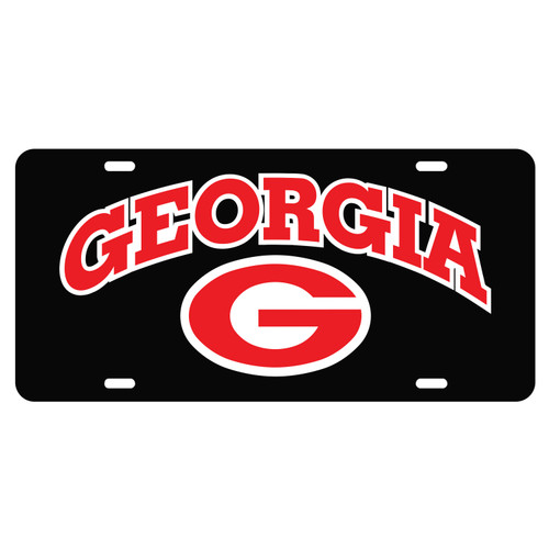 University of Georgia License Plates (04001) (04005) (04007) (04009) (04013) (04049)