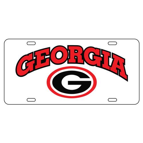 University of Georgia License Plates (04001) (04005) (04007) (04009) (04013) (04049) (04051)