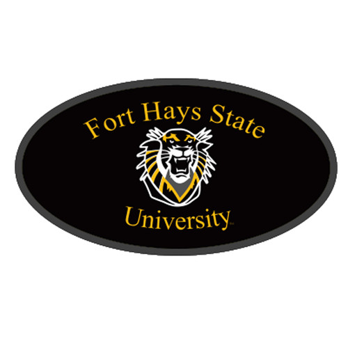 Fort Hays State HitchCover (FT HAYS STATE HITCH COVER (98106))
