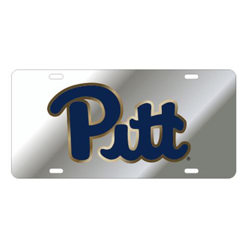 Pittsburgh (PA) TAG (LASER SIL/GLD/NAVY PITT TAG (58049))