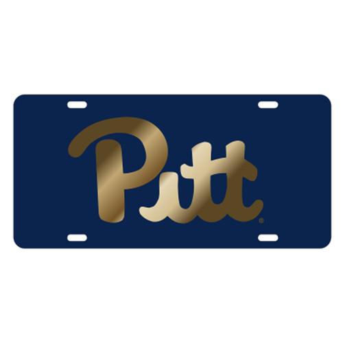 Pittsburgh (PA) TAG (LASER NAVY/GOLD PITT TAG (58048))