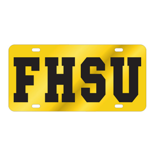 Fort Hays State TAG (LASER YEL/BLK FHSU (98101))