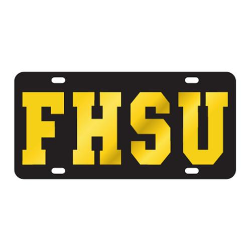 Fort Hays State TAG (LASER BLK/YEL FHSU (98100))