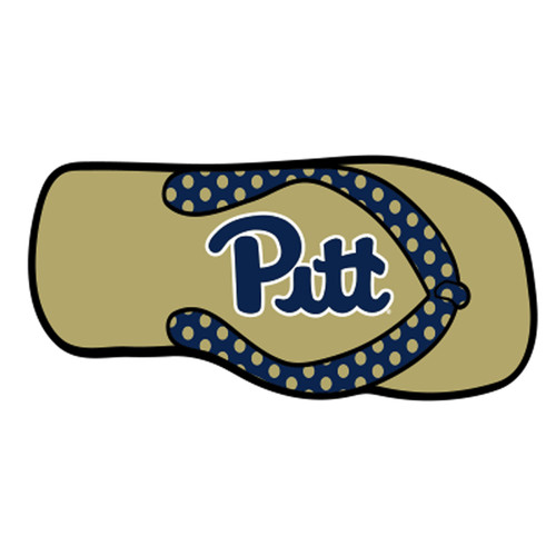 Pittsburgh (PA) HitchCover (DOMED PITT FLIP FLOP HITCH (58043))