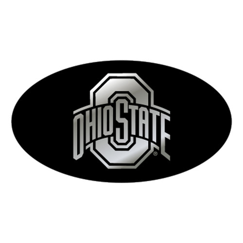 Ohio State HitchCover (MIR DOMED BLK/SIL OHIO ST HITC (48111))