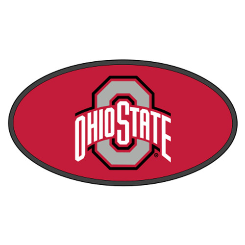 Ohio State HitchCover (DOMED OHIO STATE HITCH COVER (48106))