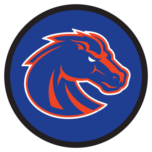 Boise State Broncos Hitch Cover (BOISE STATE ROUND HITCH COVER (46550))