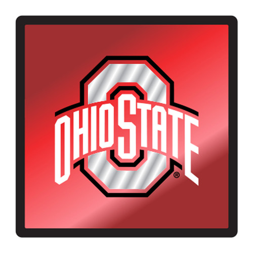 Ohio State HitchCover (MIR DOMED SQUARE OHIO ST HITCH (48108))