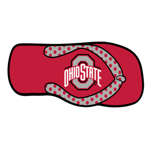 Ohio State HitchCover (DOMED OHIO ST FLIP FLOP HITCH (48112))