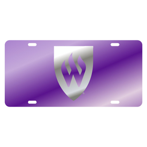 Weber State TAG (LASER PUR/SIL W TAG (46401))