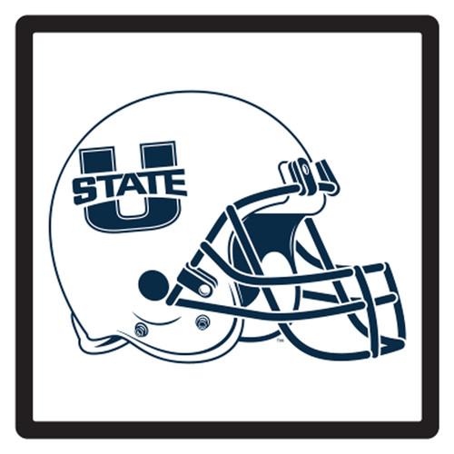 Utah State HitchCover (U STATE HELMET HITCH COVER (46262))