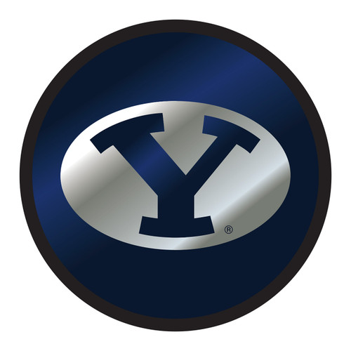 BYU Cougars Hitch Cover (DOMED BYU ROUND HITCH (45587))