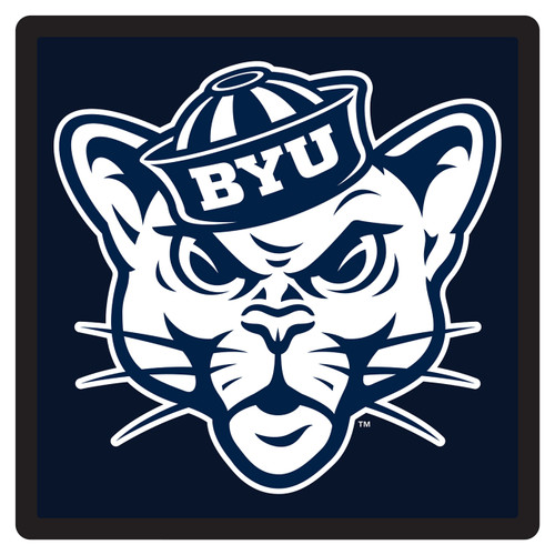 BYU Cougars Hitch Cover (DOMED BYU SQUARE HITCH (45586))