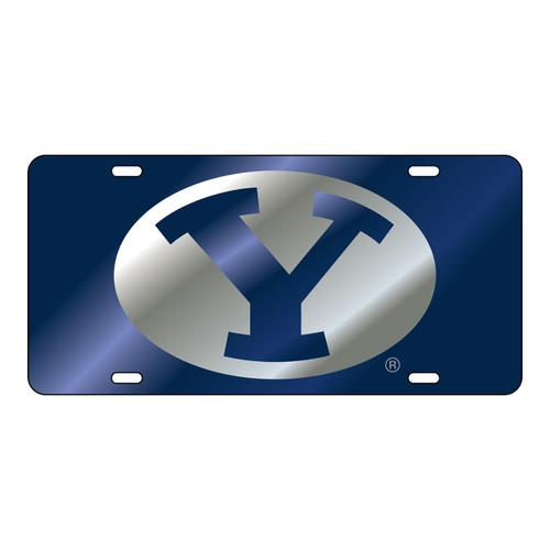 BYU Cougars Tag (LASER BLU/SIL/BLU Y TAG (45502))