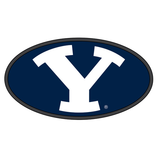 BYU Cougars Hitch Cover (DOMED Y HITCH COVER (45511))