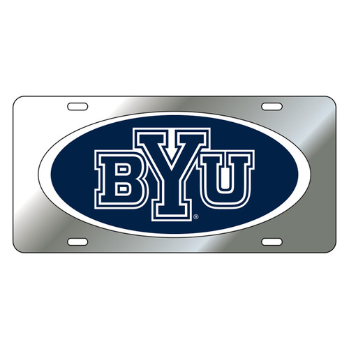 BYU Cougars Tag (DOMED BYU TAG (45513))