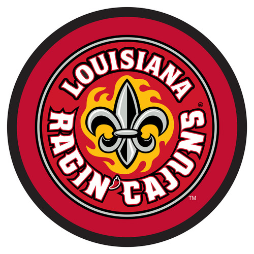 Louisiana-Lafayette Hitch Cover (RAGIN CAJUNS ROUND HITCH (45098))