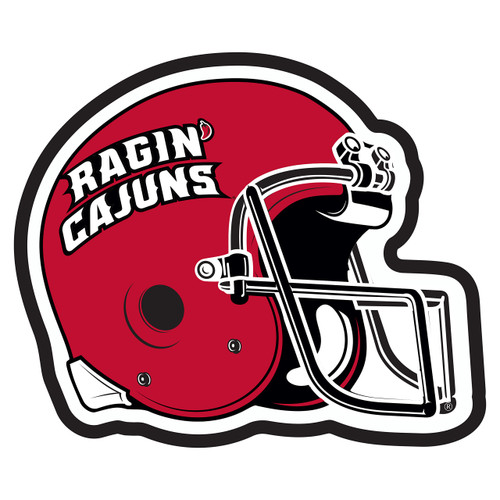 Louisiana-Lafayette Hitch Cover (RAGIN CAJUNS HELMET HITCH (45096))