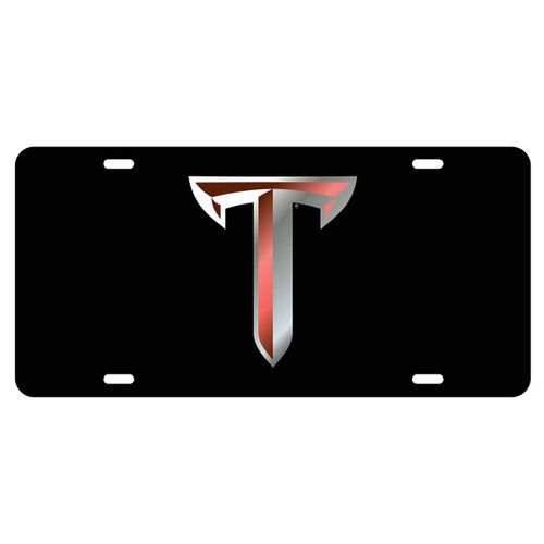Troy Tag (LASER BLK/SIL/RED T TAG (44505))