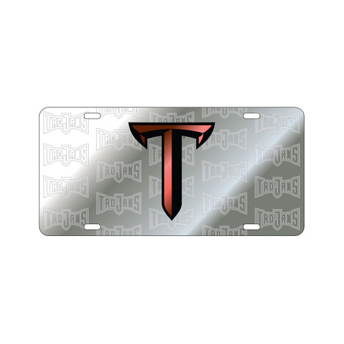 Troy Tag (LASER SIL SATIN SYMBOL T TAG (44504))