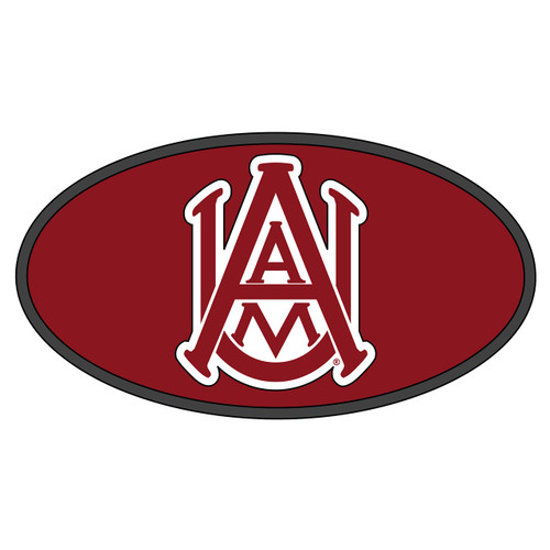 Alabama A&M Hitch Cover (DOMED AAMU HITCH COVER (44043))
