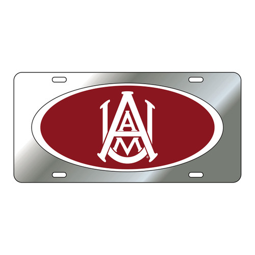 Alabama A&M Tag (DOMED ALABAMA A&M TAG (44045))