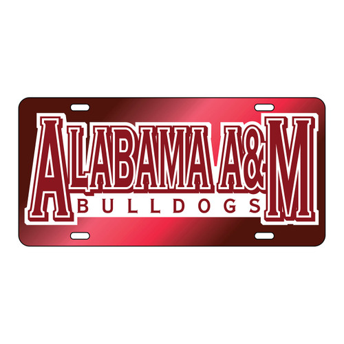 Alabama A&M Tag (MAR/REF ALABAMA A&M UNIV TAG (44003))