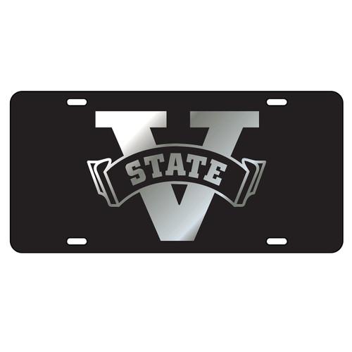 Valdosta State Tag (LASER BLK/SIL V-STATE (43089))