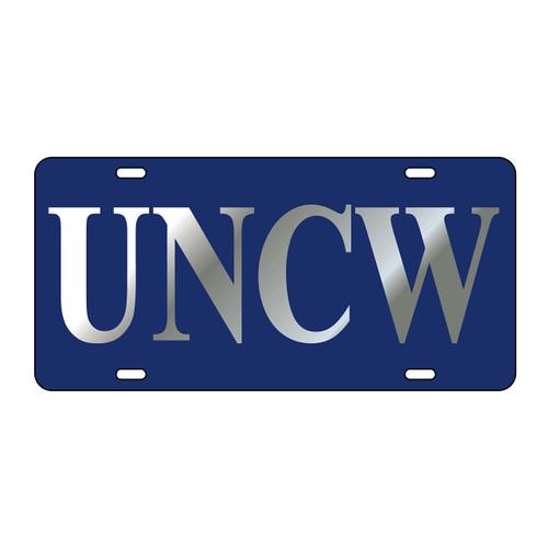 North Carolina-Wilmington TAG (LASER BLU/SIL UNCW TAG (42514))
