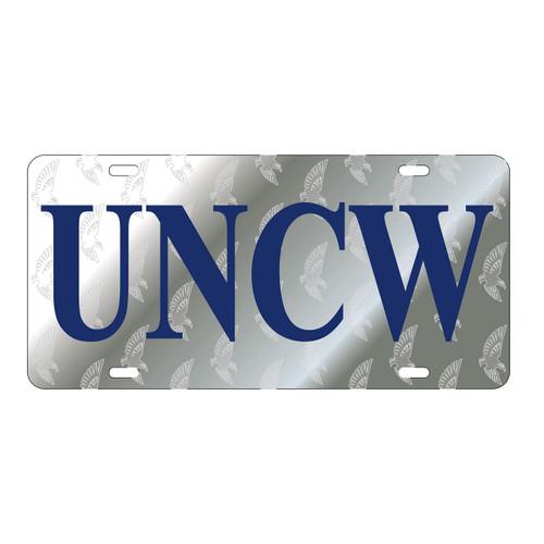 North Carolina-Wilmington TAG (LASER UNCW SATIN SYMBOL BK TAG (42536))