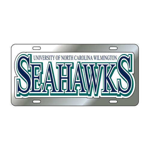 North Carolina-Wilmington TAG (SIL/REF UNCW SEAHAWKS TAG (42504))