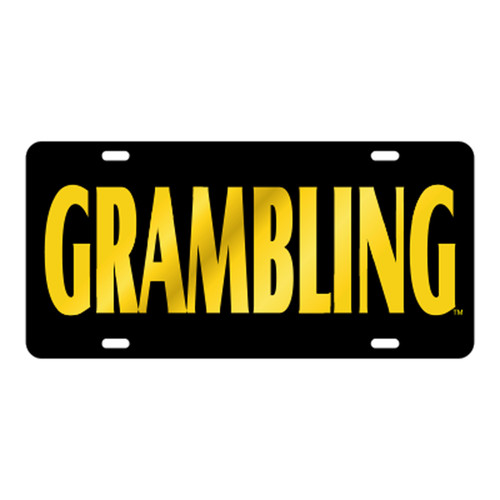 Grambling State TAG (LASER BLK/YEL GRAMBLING TAG (42016))