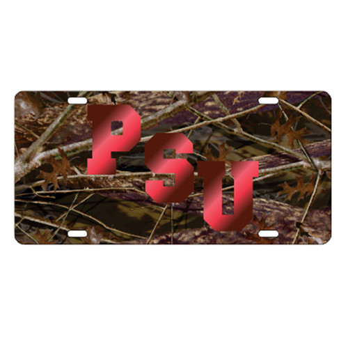 Pittsburg State (KS) TAG (LASER CAMO PITT ST TAG (41057))