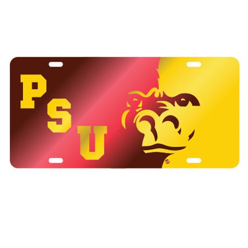 Pittsburg State (KS) TAG (LASER RED/YEL PSU GORILLA TAG (41001))
