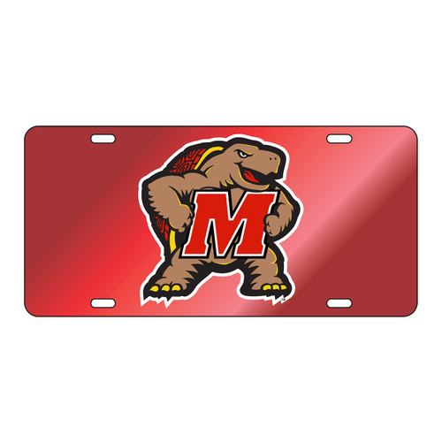 Maryland Tag (RED/REF M TERP TAG (37512))