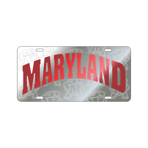 Maryland Tag (LASER MARYLAND SATIN SYM TAG (37548))