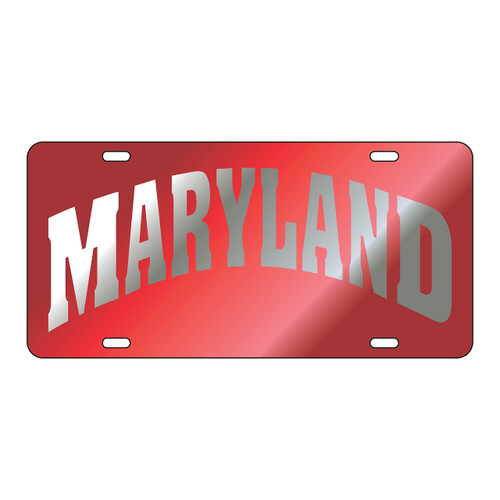 Maryland Tag (LASER RED/SIL MARYLAND TAG (37500))