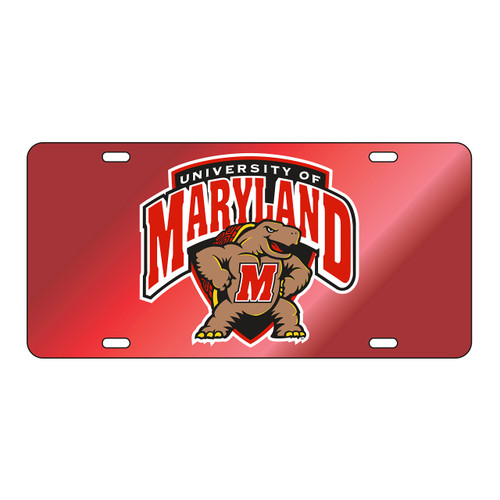 Maryland Tag (RED/REF MARYLAND TERP TAG (37509))